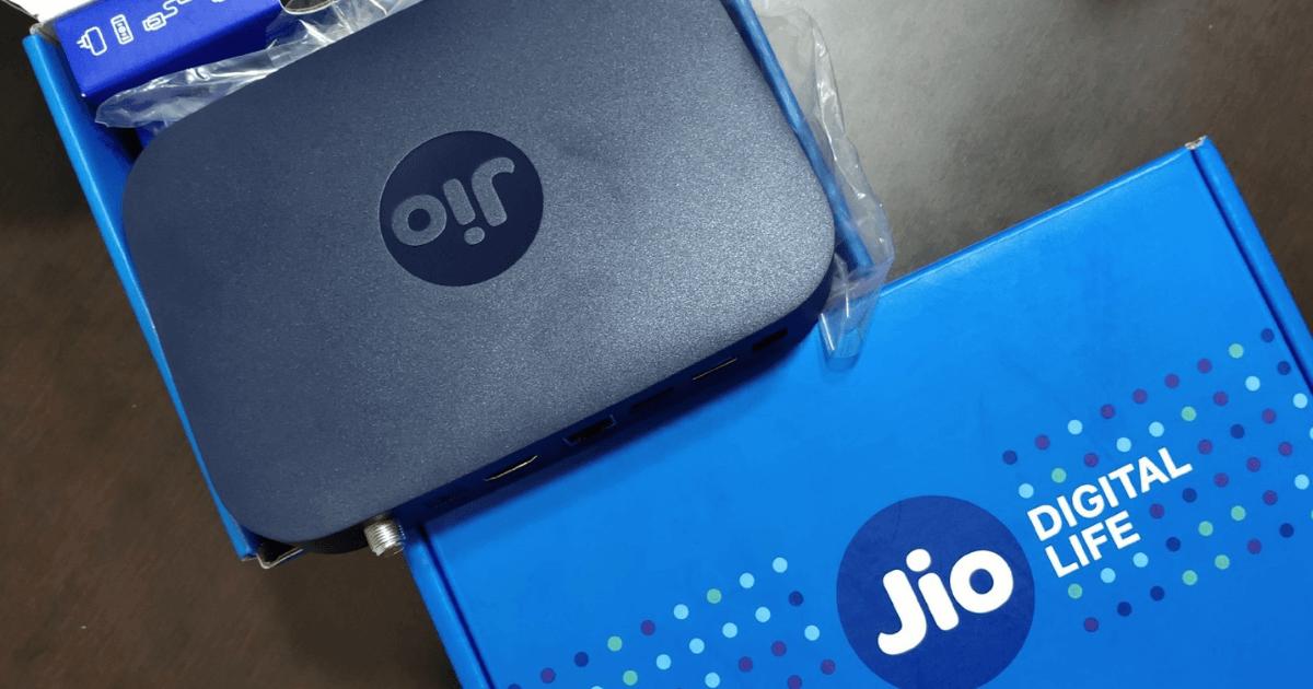 reliance jio fiber launch