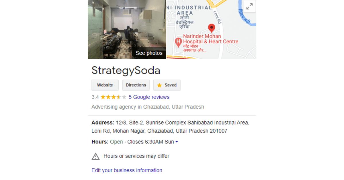 Google My Business Account